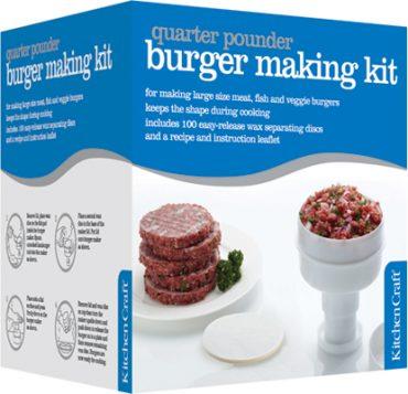 Kitchen Craft hamburger forma csomagolásHamburger forma csomagolás