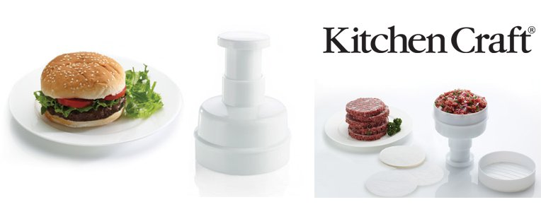 Kitchen Craft hamburger prés