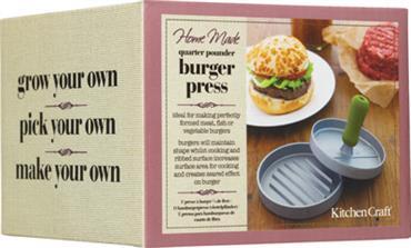 Kitchen Craft hamburger prés csomagolás