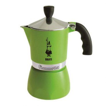 Bialetti Fiammetta zöld 3 személyes kávéfőző