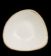Barley White háromszög mély kerámia tányér 23,5 cm