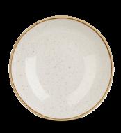 Barley White kerek mély kerámia tányér 24,8cm