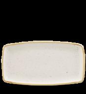 Barley White szögletes lapos kerámia tál 35-19 cm