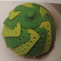 Lotus zöld pároló betét összecsukva
