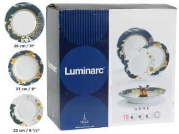 Orme 18 darabos Luminarc étkészlet-g1