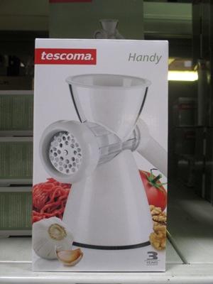 Tescoma kézi húsdaráló csomagolás