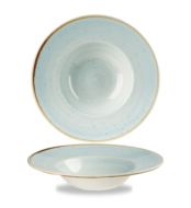 Duack Blue kerek peremes mély kerámia tányér 24, cm