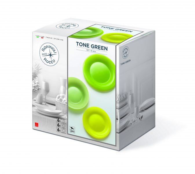 Tone Green 18 darabos Luminarc étkészlet