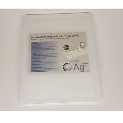 Cuisinex fehér HDPE antimikro vágólap