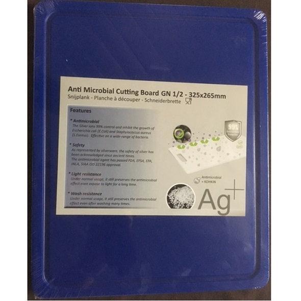 Cuisinex kék HDPE antimikro vágólap