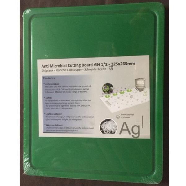 Cuisinex zöld HDPE antimikro vágólap
