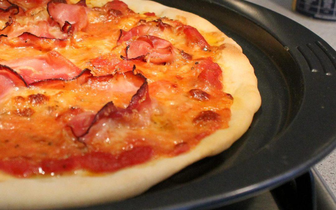 Tefal EasyGrip pizzasütő forma teszt