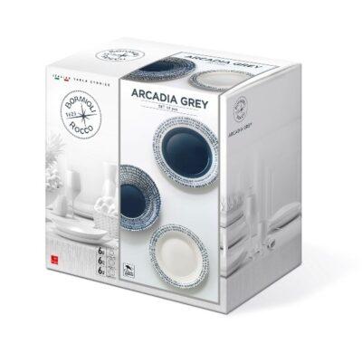 Arcadia Grey 18 darabos Luminarc étkészlet