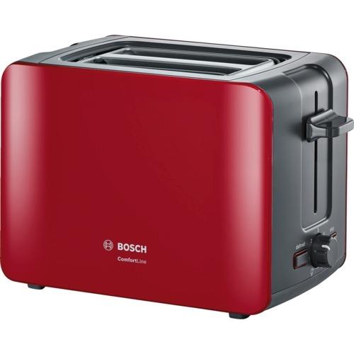 Bosch ComfortLine TAT6A114 2-szeletes piros kenyérpirító