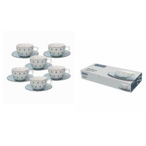 Casablanca Metropol 6 darabos porcelán teás készlet