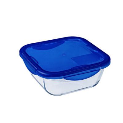 Cook and Go műanyag fedős szögletes sütőtál