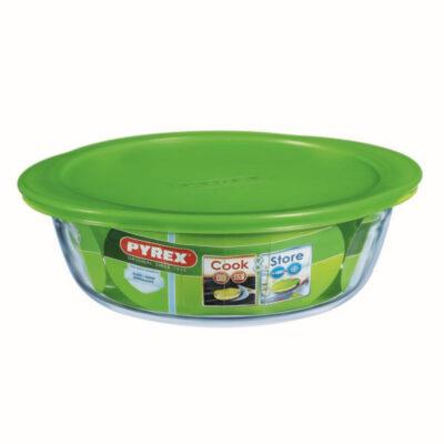 Cook and Store műanyag fedős kerek sütőtál
