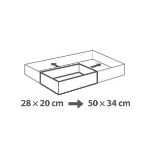 Delícia állítható szögletes tortaforma g2