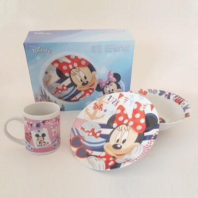 Disney Minnie 3 darabos gyermek étkészlet