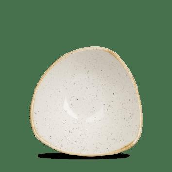 Barley White háromszög mély kerámia tányér 15,3 cm