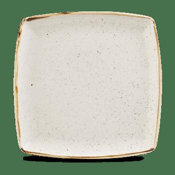 Barley White szögletes lapos kerámia tál 26,8-26,8 cm