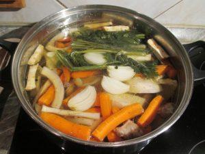 Főzés zöldségekkel
