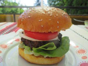 Hamburger recept - a végeredmény