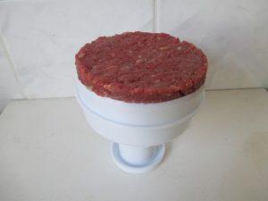 Hamburger hús formázása 1