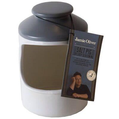 Jamie Oliver szürke-fehér kerámia sómalac