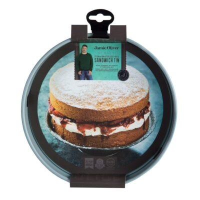 Jamie Oliver 20x4 kék kerek sütőforma