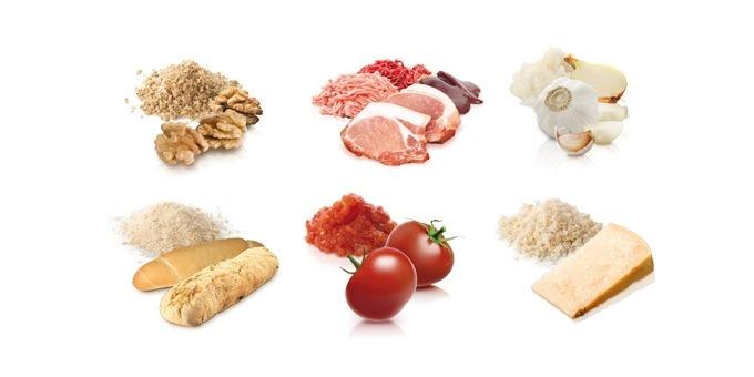 Tescoma kézi húsdaráló darálható élelmiszerek