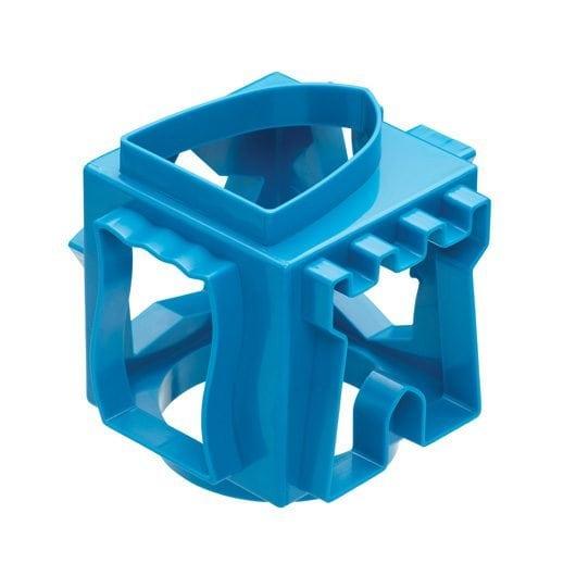 Kitchen Craft miniamo kocka alakú kék sütikiszúró