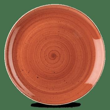 Orange lapos kerámia tányér