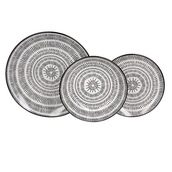 Pleiadi 18 darabos porcelán étkészlet