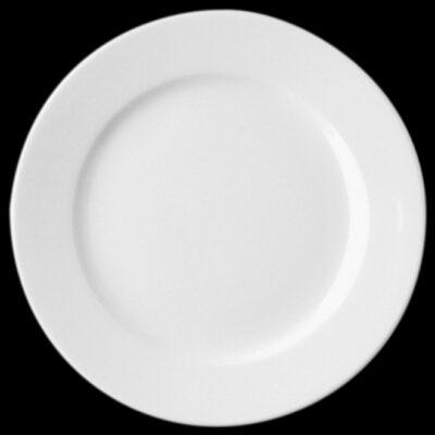 Rak banquet 31 cm-es lapos fehér porcelán tányér