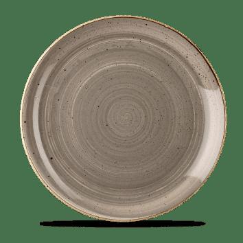 Grey lapos kerámia tányér
