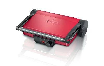 TCG4104 vörös-antracit Bosch kontakt grill