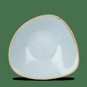 Duck Blue háromszög mély kerámia tányér 23,5 cm
