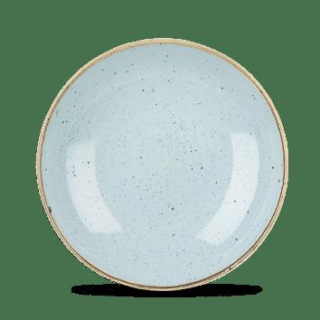Duack Blue kerek mély kerámia tányér 24,8 cm