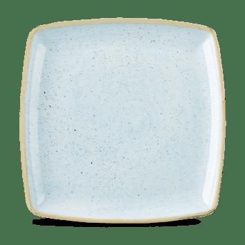 Duck Blue szögletes lapos kerámia tányér 26,8-26,8 cm